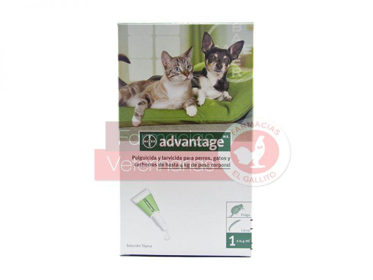 ADVANTAGE-4(PERROS-YGATOS-4KG)