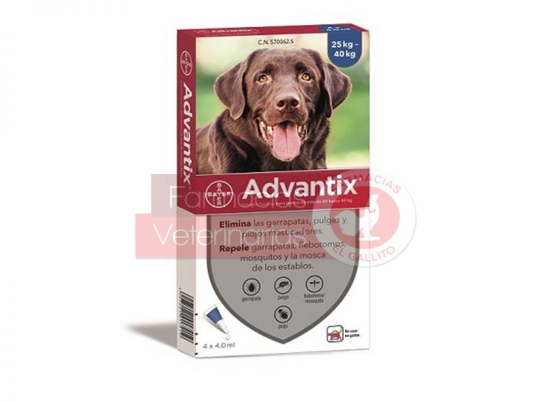 ADVANTIX-25–40-KG.-4-ML.